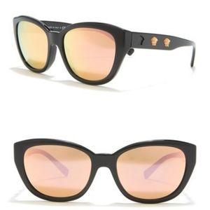 Versace Cute 56mm Cat Eye Sunglasses